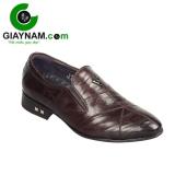 Giày lười công sở cao cấp màu nâu sang trọng mang mã GL5291N