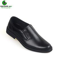 Giày lười công sở đế bền siêu đẹp màu đen không gian 2018; Mã số GL001D