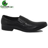 Giày lười công sở màu đen mã GL86086D