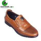 Giày lười cao cấp ODAY màu nâu sang trọng, mã GL9580N