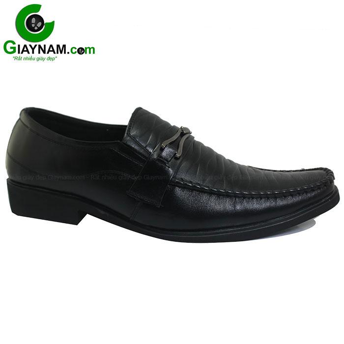 Giày lười công sở giá rẻ màu đen mã GL0910D