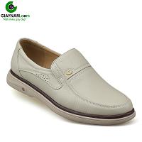 Giày lười màu trắng sữa quý phái mang đậm khí chất CEO; Mã số GL88832TS