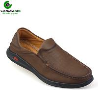 Giày lười nam trẻ trung bốn mùa màu nâu dành riêng cho các bạn trẻ; Mã số GL361N