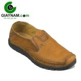 Giày lười thời trang cá tính mẫu mới 2017 màu vàng mã GLRA78V