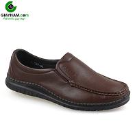 Giày lười thời trang màu nâu thời thượng 2018 nhập khẩu; Mã số GL5507N