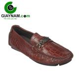 Giày mọi nam mùa hè màu nâu mang mã số GM206N