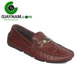 Giày mọi mùa hè cho nam màu rượu vang sang trọng mang mã số GM2061RV