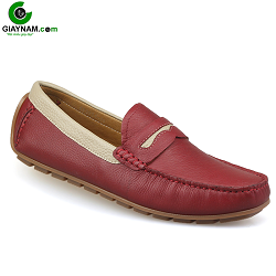 Giày mọi nam màu red sang chảnh mùa hè 2018; Mã số GM931DT