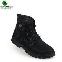 Giày nam cao cổ màu đen chính hãng thời trang SWAG; Mã số GCC9983D