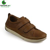 Giày nam lười tiện nghi sang trọng màu vàng chanh xả 2018; Mã số GL82895V