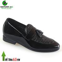 Giày tăng chiều cao cho nam 6.5cm phong cách thời trang cuốn hút 2018; Mã số GC19322D