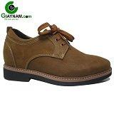Giày tăng chiều cao màu vàng thể thao mã GCD7612V