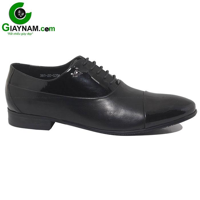 Giày buộc dây công sở màu đen mã BD38120D
