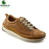 Giày thể thao thời trang buộc dây nam màu vàng truyền thống 2020; Mã số BD82891V