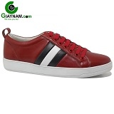 Giày nam thời trang thể thao màu đỏ mã BD0104DO