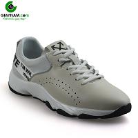 Giày thể thao năng động 2018 màu trắng xám hàng nhập khẩu; Mã số BD18555X