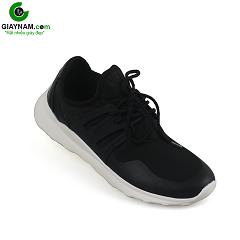 Giày thể thao thời trang màu đen đế trắng năng động bền bỉ 2018; Mã số BD550D