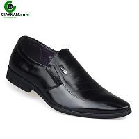 Giày thời trang thương hiệu aulunbin màu đen đẹp; Mã số 23338d