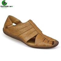 Giày nam thời trang viền sọc trắng màu vàng excellent; Mã số 21374V